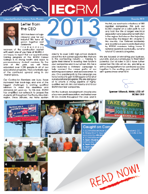 2013 Year in Review Newsletter