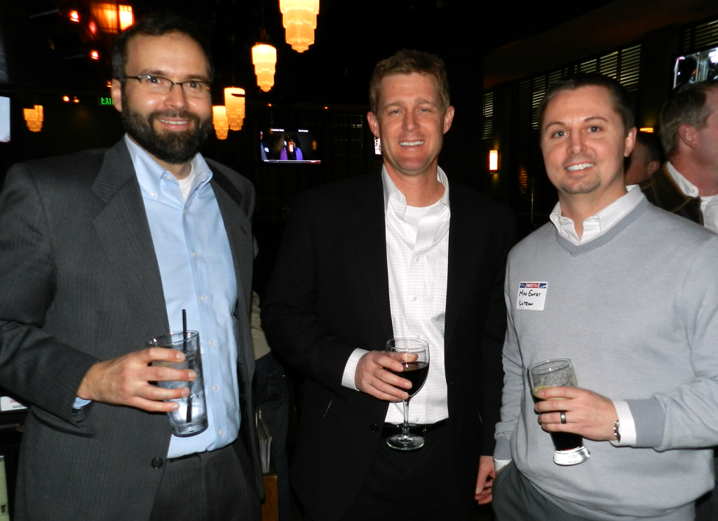 IECRM Happy Hour: Spenser Villwock, Executive Director of IECRM - Rodney Lane of Siemens - Mike Ewert of Lutron Electronics