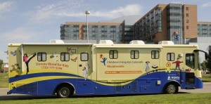 Children's Hospital Bloodmobile