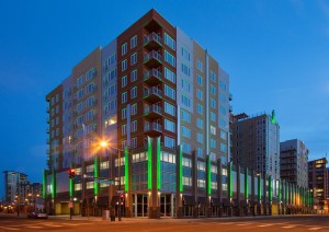 2013 Highest Peak Award Winner - 2020 Lawrence Street in Denver Colorado - by 1st Electric Contractors