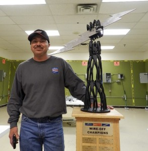 2013 Wire-Off Winner Herb Duelm of Lakewood Electric Company