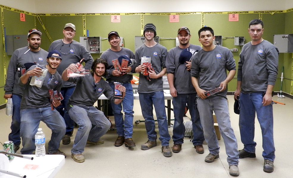 Finalists of the IECRM Apprentice Wire-Off Competition
