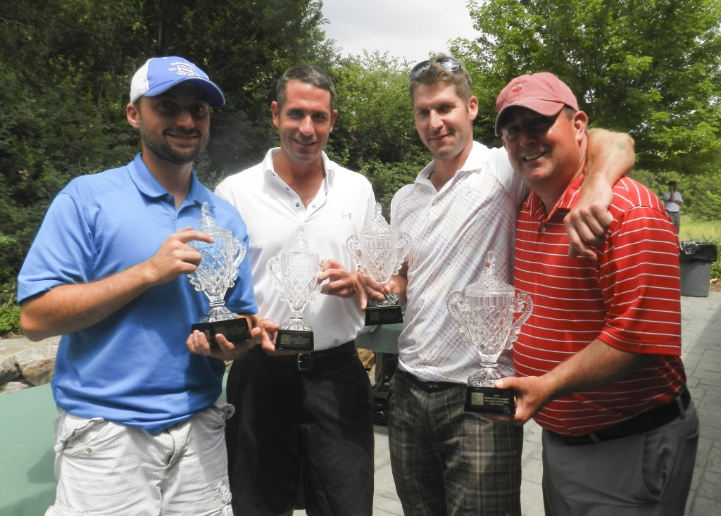 IECRM Annual Golf Tournament 1st Place Winners
