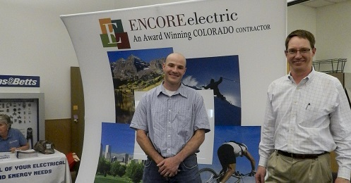 Encore Electric recruits at IECRM Energy Industry Job Fair in Denver