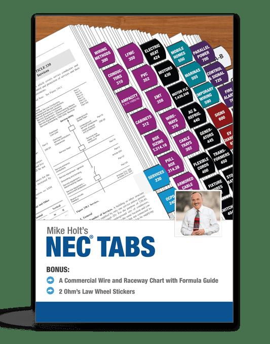 2017 NEC Tabs Photo
